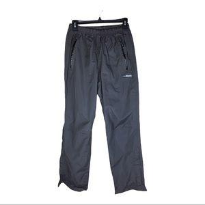REI Brown Black Hiking Pants Nylon Size Medium